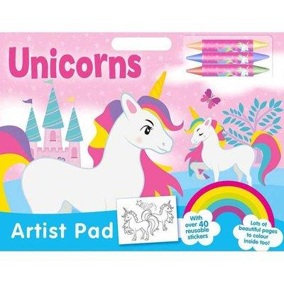 Unicorns Artist Pad