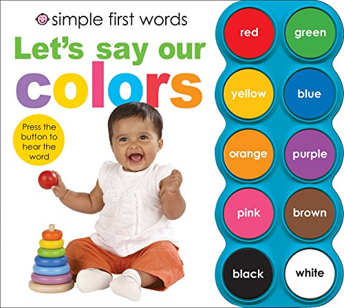simple first words lets say our color