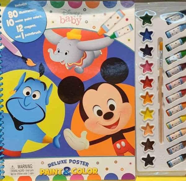 Disney Mickey Deluxe Poster Paint & Color