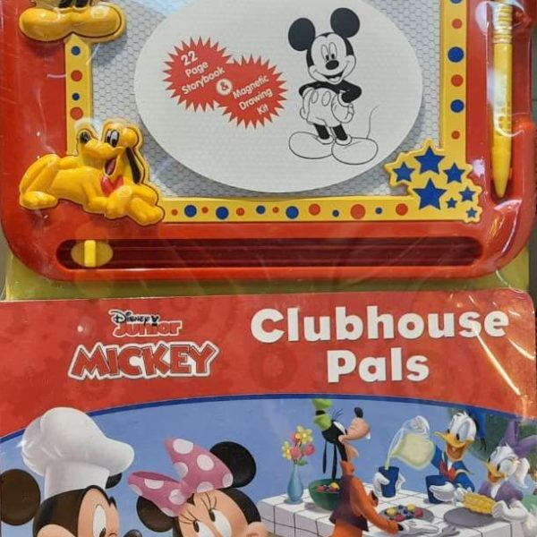 Mickey Mouse Clubhouse Pals Magnetic Sketch Pad & Board Book